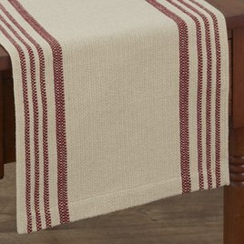 Park Designs Rustic Stripe Table Runner