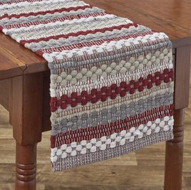 Park Designs Farmhouse Holiday Chindi Table Runner