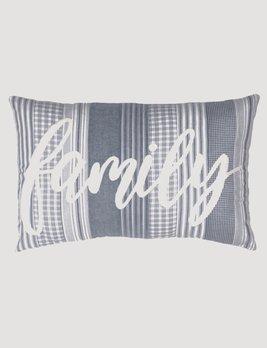 VHC Brands Sawyer Mill Blue Family Pillow
