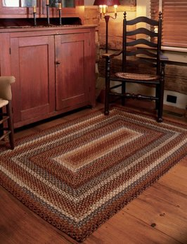Homespice Decor Biscotti Cotton Braided Rug