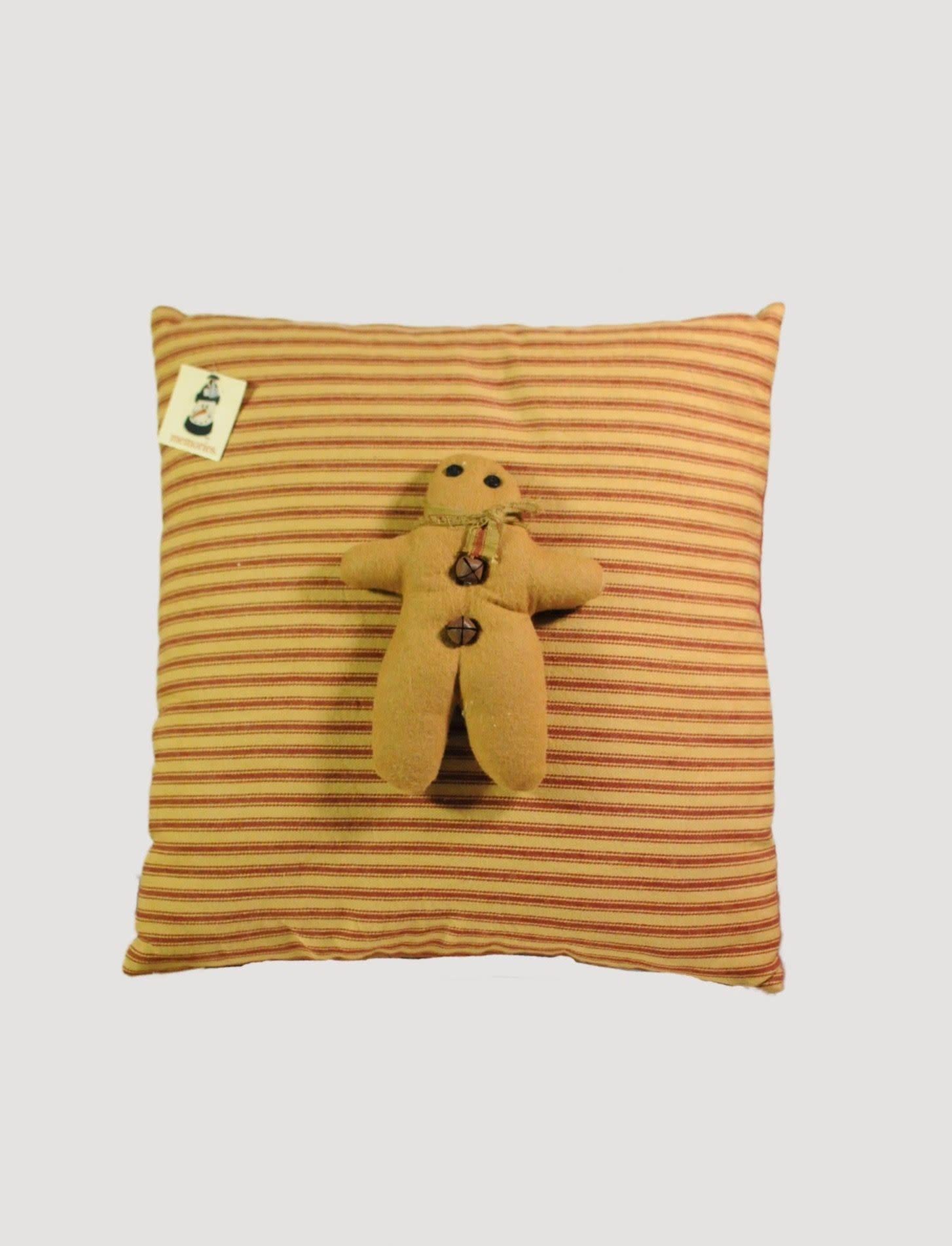 Nana's Farmhouse Gingerbread Pillow