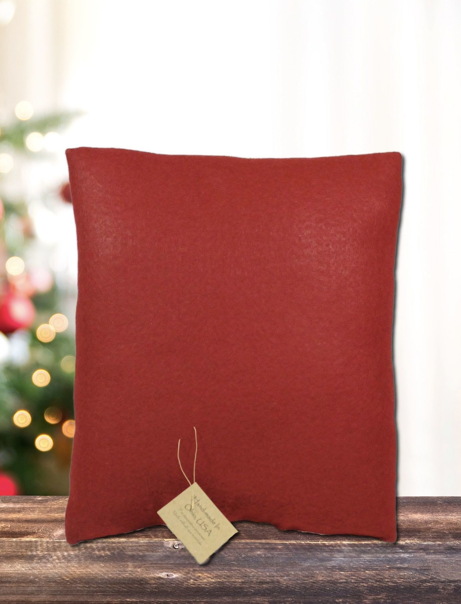 Nana's Farmhouse Feather Tree Pillow