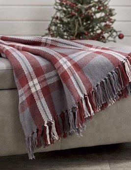 Park Designs Farmhouse Holiday Throw