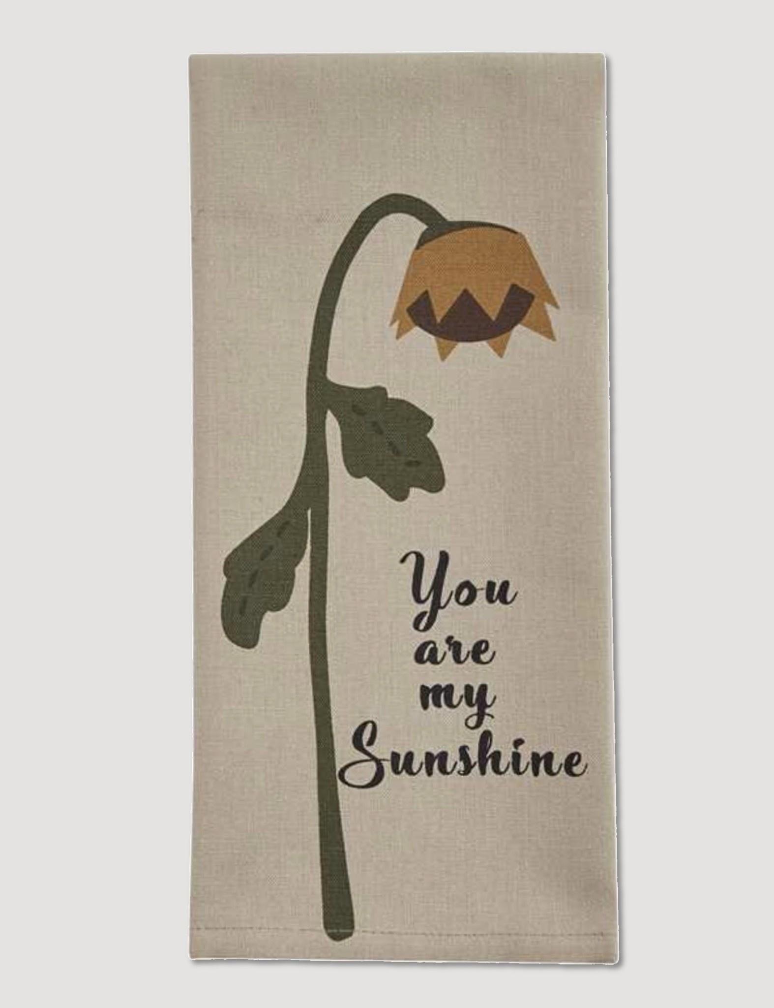 Park Designs Sunshine Print Dishtowel