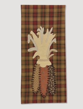Park Designs Indian Corn Applique Dish Towel