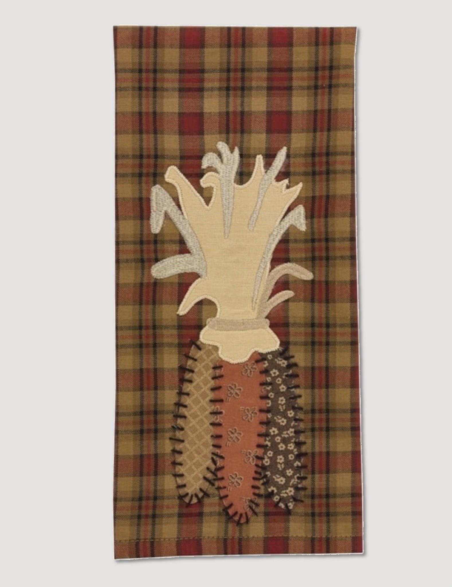 Park Designs Indian Corn Applique Dish Towel
