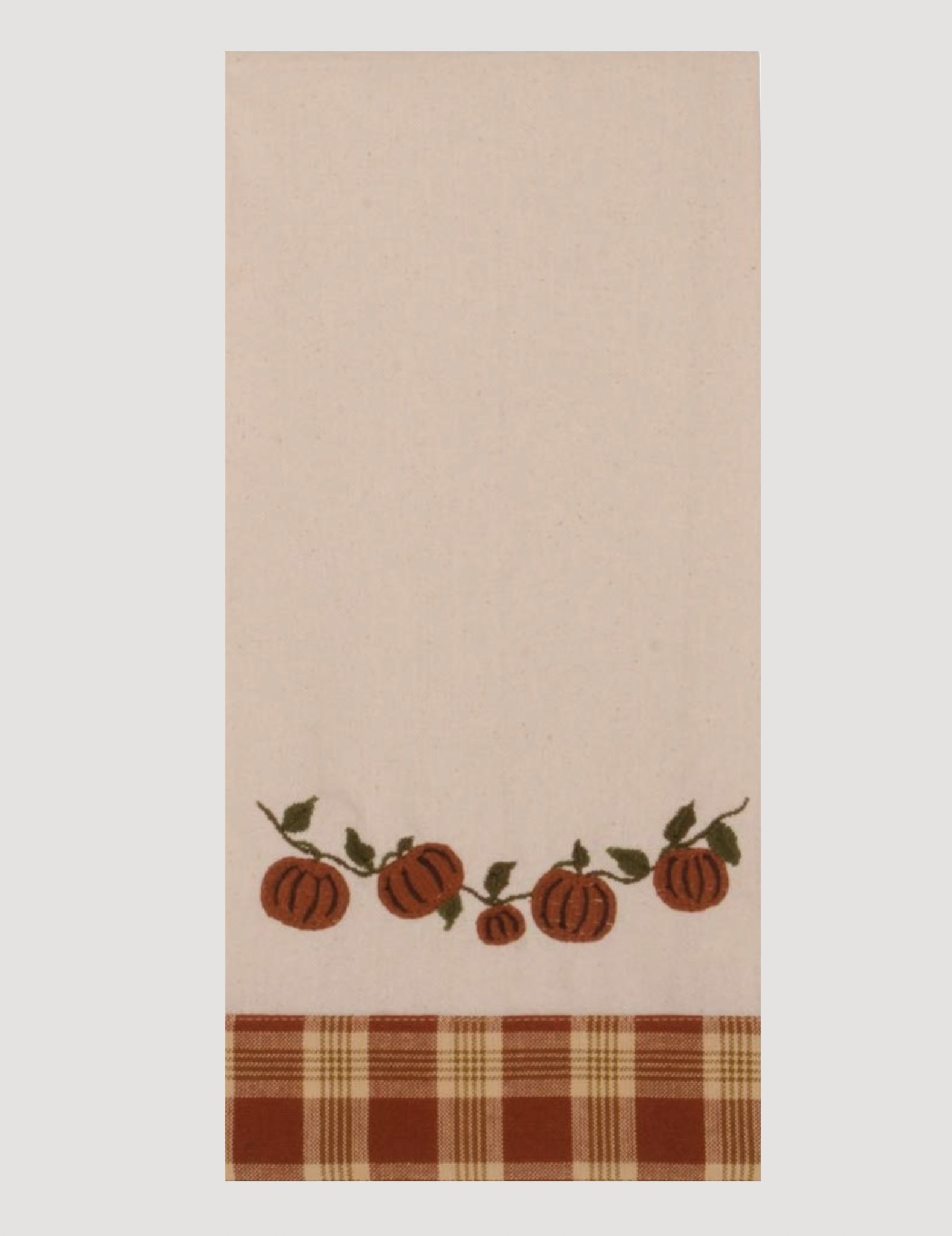 Home Collections By Raghu Little Pumpkin Vine Dish Towel