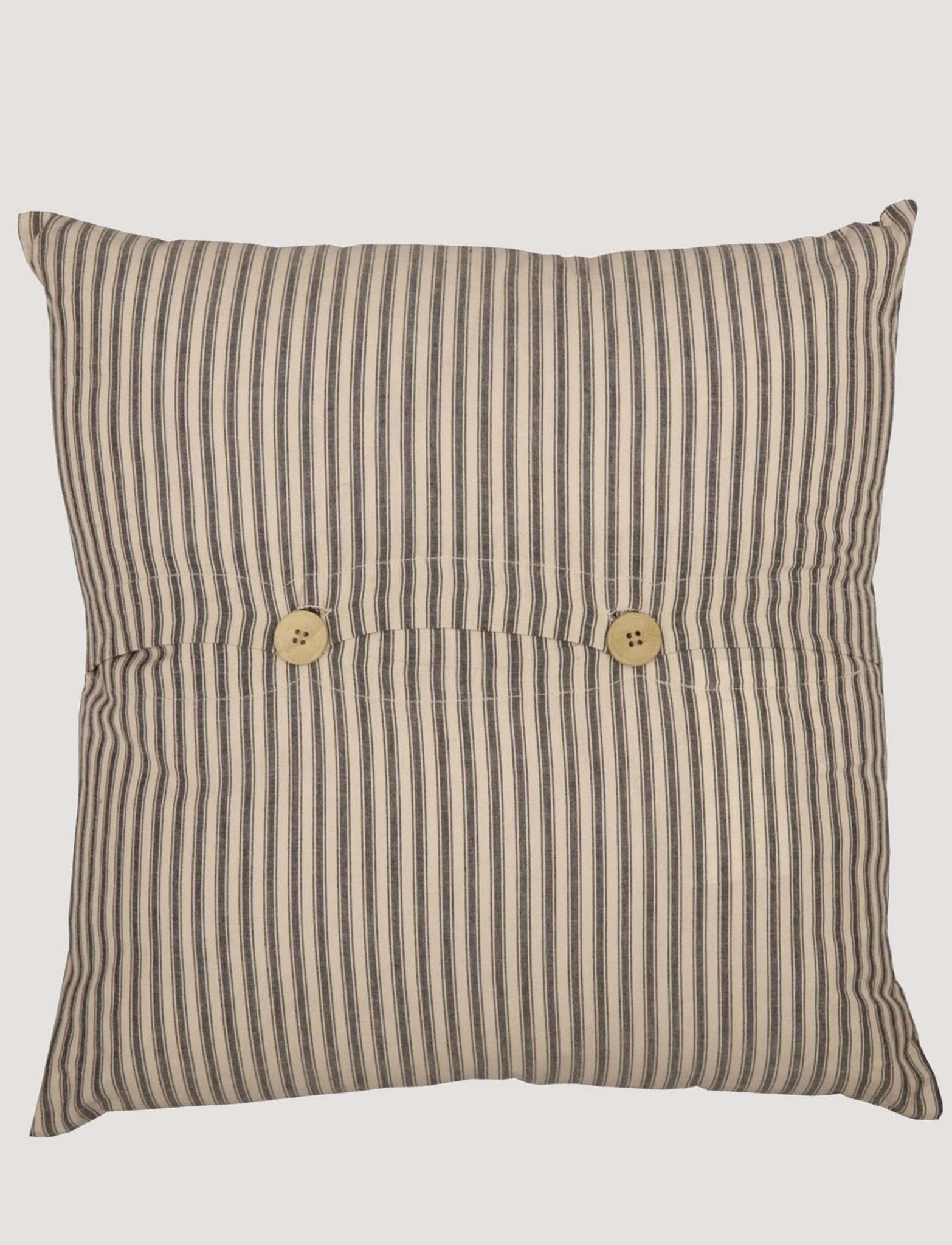 """VHC Brands Sawyer MIll Charcoal Harvest Festival Pillow 18""""x18"""""""