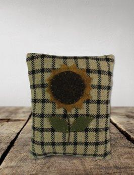 Nana's Farmhouse Small Sunflower Pillow - Handmade
