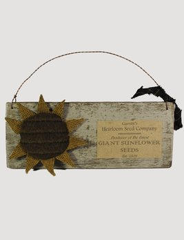 Nana's Farmhouse Sunflower Handmade Sign