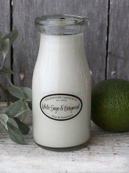 Milkhouse Candles White Sage & Bergamot 8oz Milkhouse