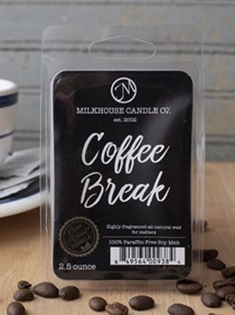 Milkhouse Candles Coffee Break 2.5oz Melt Milkhouse