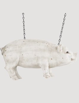 K & K Interiors White Resin Pig Arrow Replacement