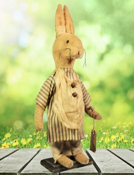 Nana's Farmhouse Myrtle The Primitive Rabbit