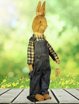 Nana's Farmhouse Patrick The Rabbit with Jeans