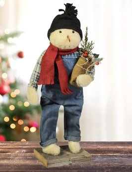 Flannel Snowman