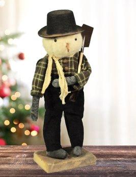 Black Hat Snowman