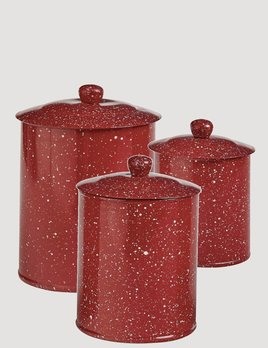 Park Designs Granite Enamelware Canister Set