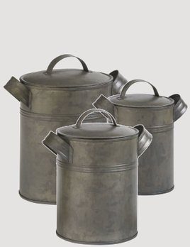 Park Designs Vintage Canister Set of 3