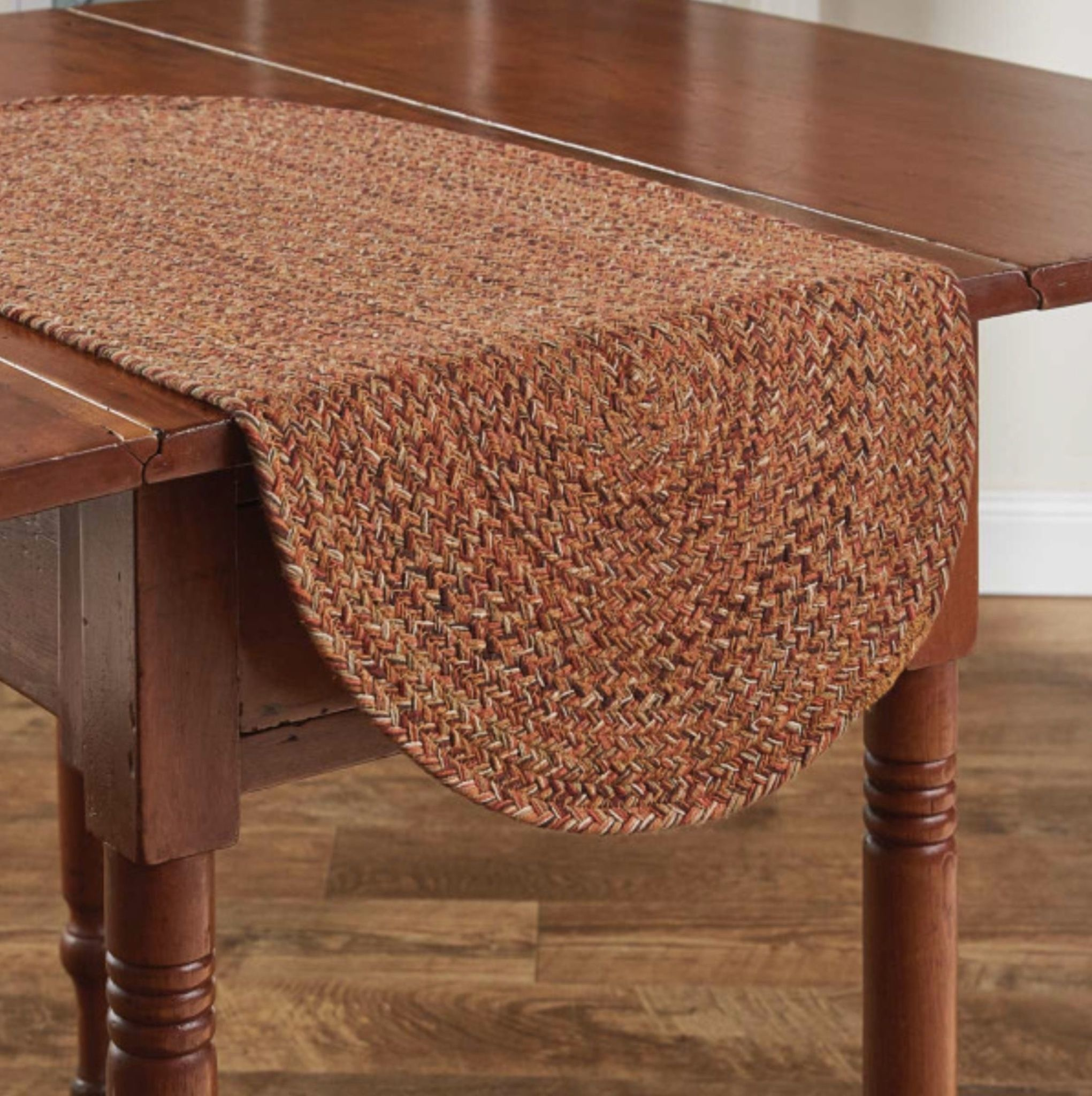 "Park Designs Allspice Braided Table Runner - 15"" x 36"""