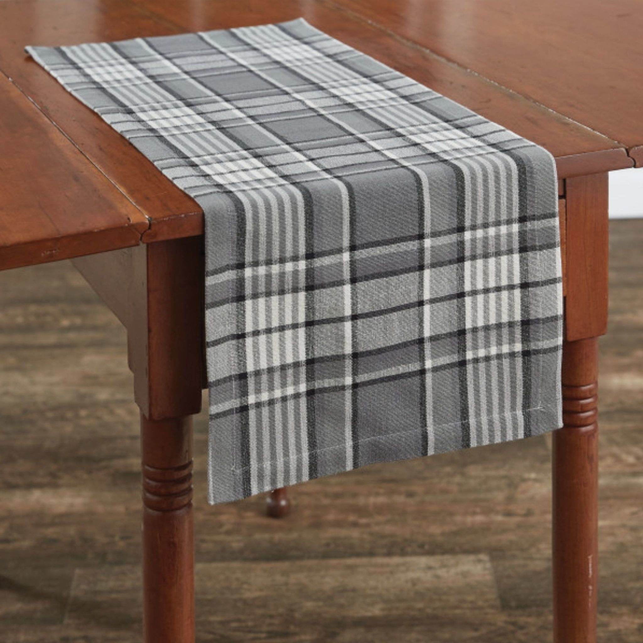 "Park Designs Grey Area Table Runner - 13"" x 36"""