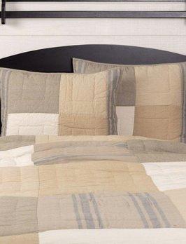 VHC Brands Farmers Market Grain Sack Stripe Pillow Sham