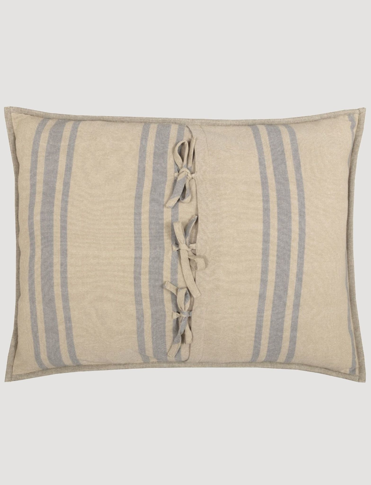 VHC Brands Farmers Market Grain Sack Stripe Pillow Sham