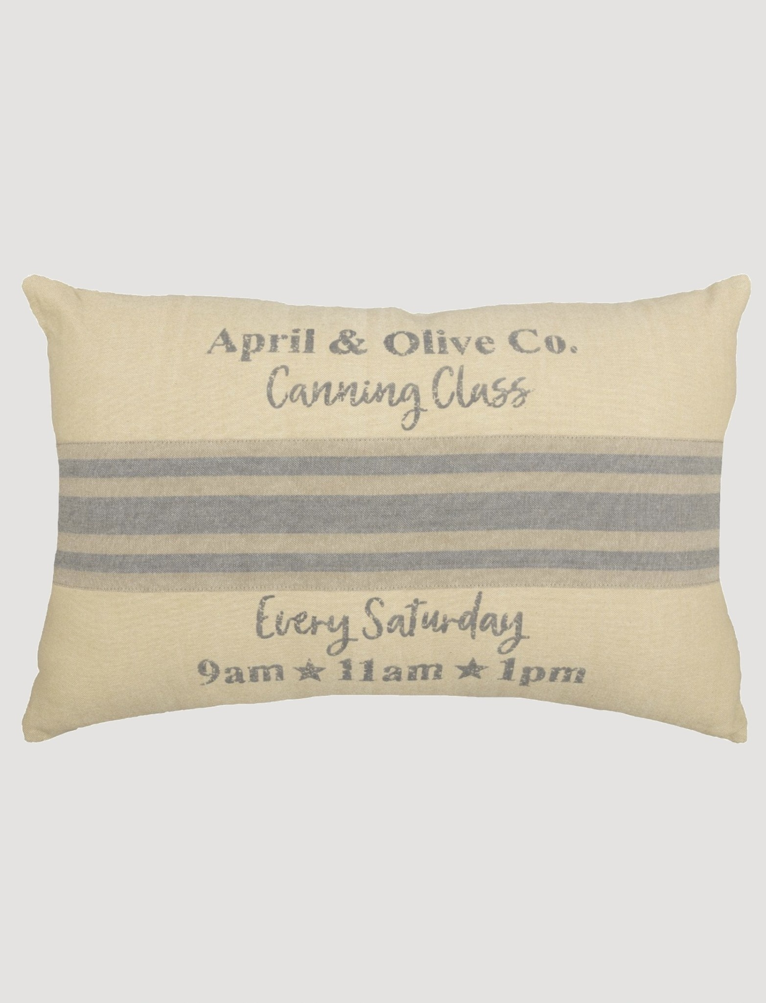VHC Brands Farmer's Market Canning Pillow - 14x22
