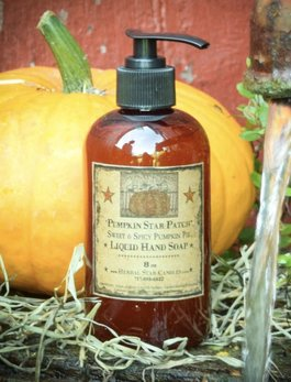 Herbal Star Candles Pumpkin Star Patch Liquid Hand Soap