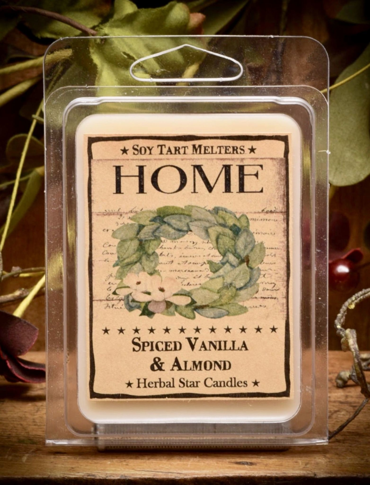 Herbal Star Candles Home Mini Pack of Tarts