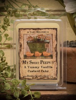 Herbal Star Candles My Sweet Peeps Mini Pack of Tarts