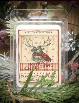 Herbal Star Candles Prancer's Pumpkin Bread Mini Tarts