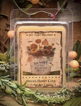 Herbal Star Candles Spice Honey Cake Mini Pack of Tarts