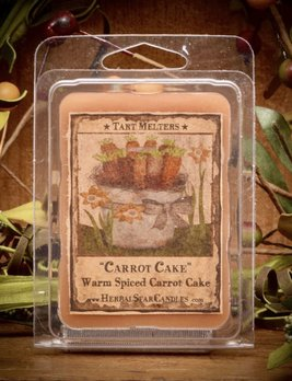 Herbal Star Candles Carrot Cake Mini Pack of Tarts