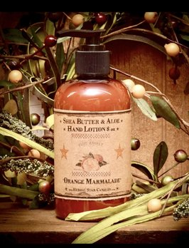 Herbal Star Candles Orange Marmalade Organic Hand Lotion