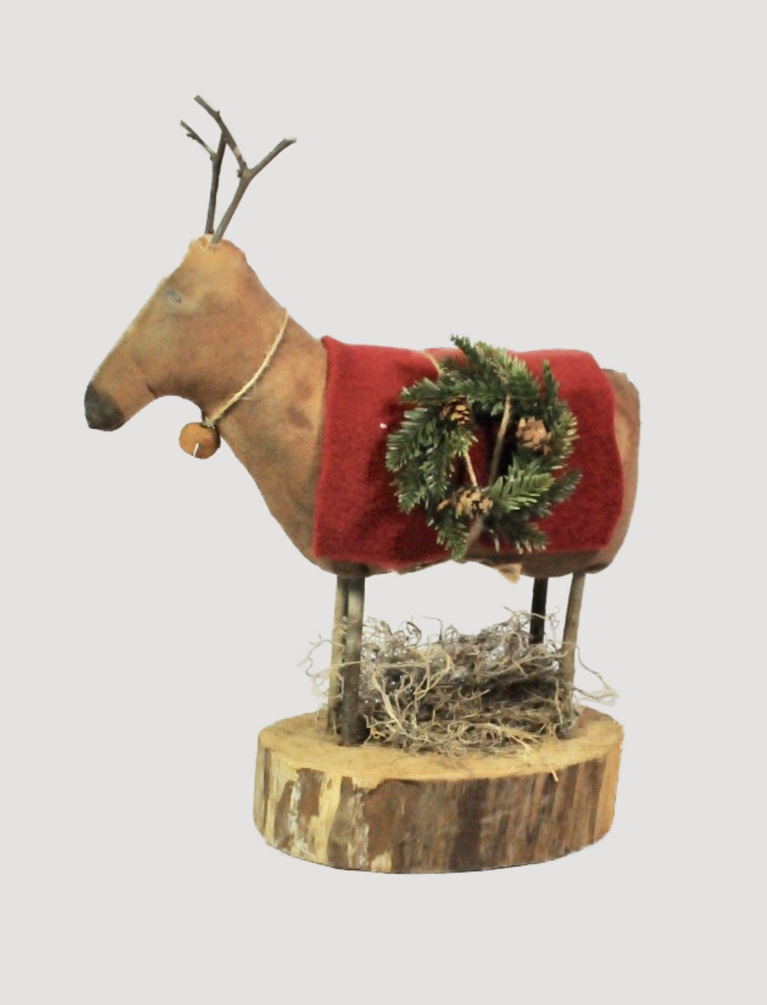 Dawns Attic Treasurers Holiday Handmade Reindeer