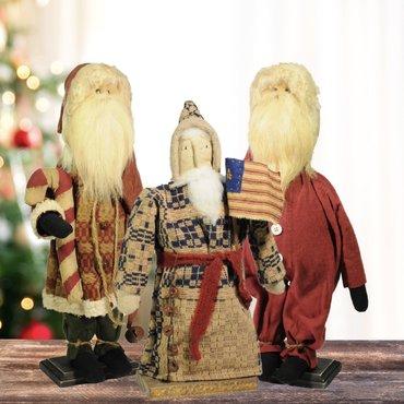 Primitive Santas