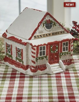Park Designs Vintage Town Square Cookie Jar