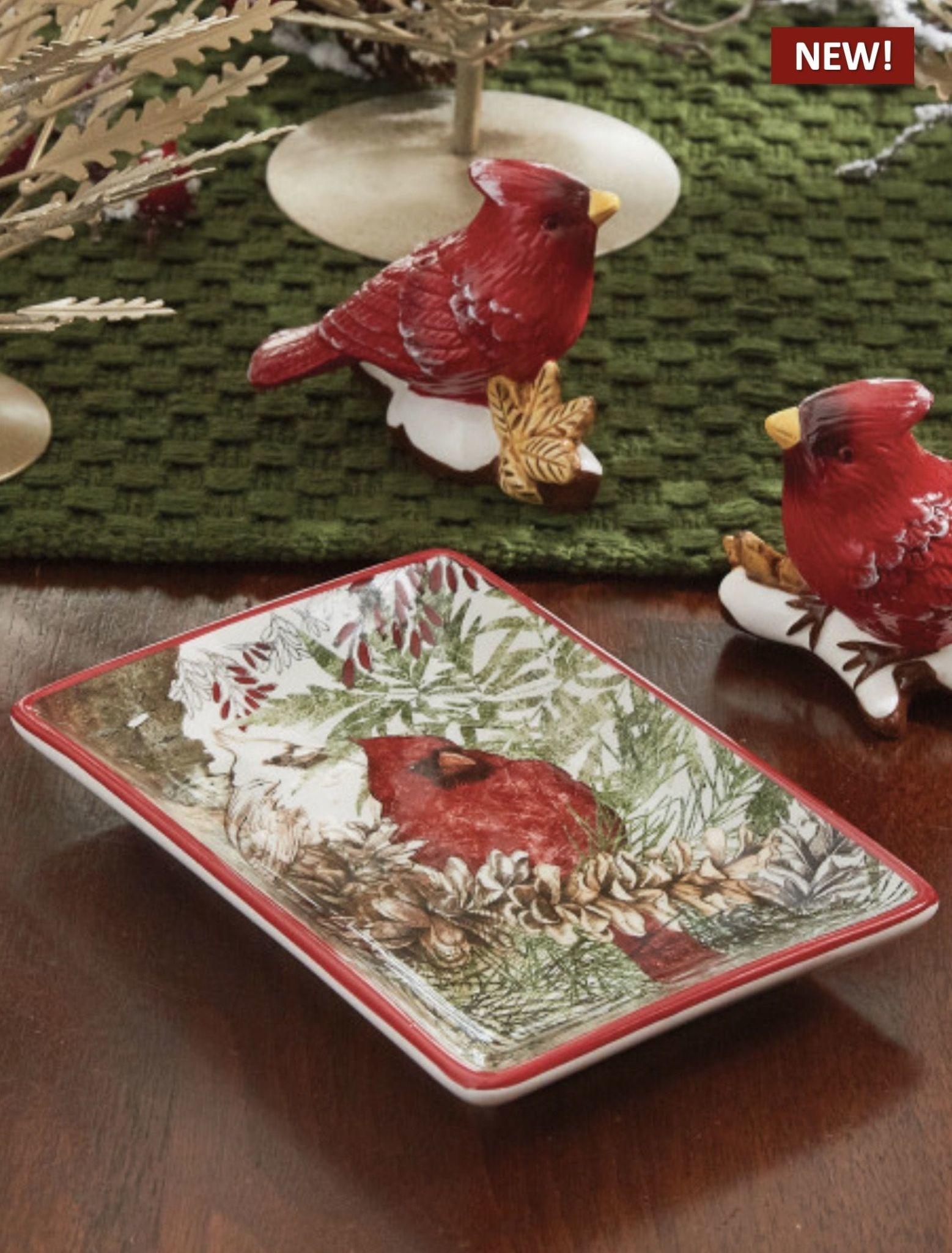Park Designs Cardinals Spoon Rest