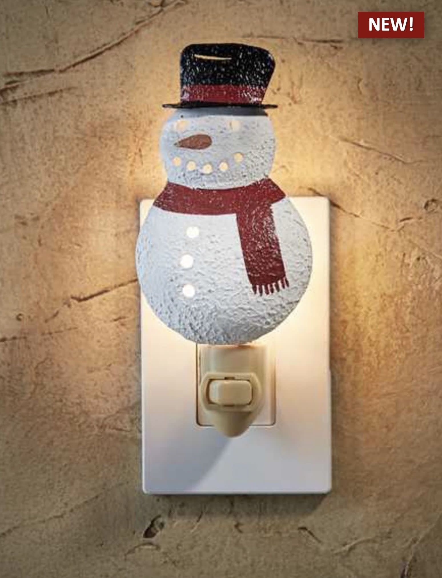 Park Designs Snowman Night Light