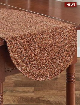 Park Designs Allspice Braided Table Runner