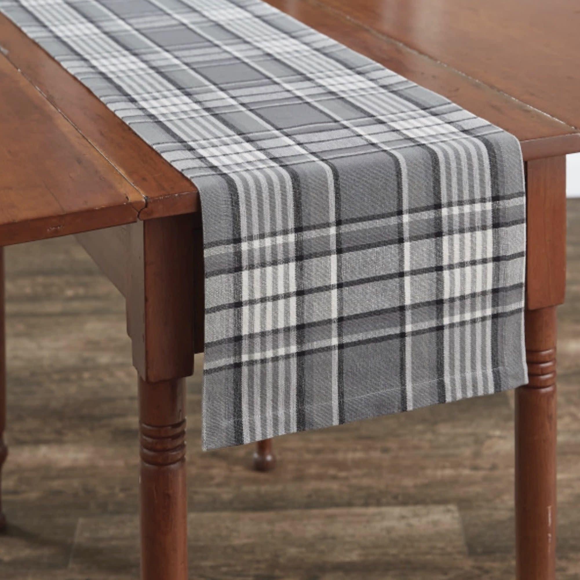 "Park Designs Grey Area Table Runner - 13"" x 54"""