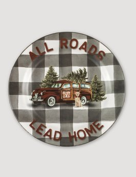 Ragon House Collection All Roads Lead Home Plate
