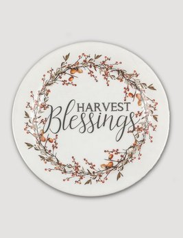 Ragon House Collection Harvest Blessing Plate