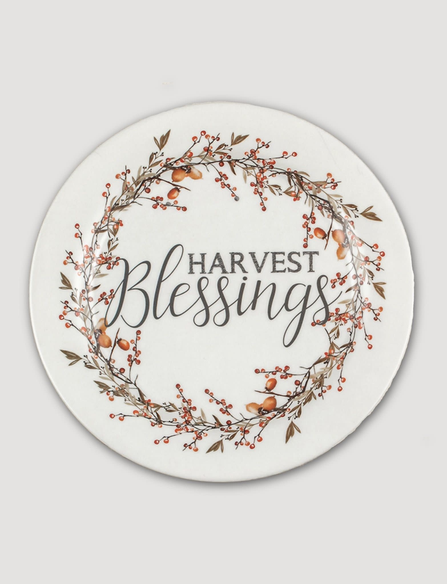 Ragon House Collection Harvest Blessing Plate - 10""
