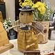 Nana's Farmhouse Golden Handmade Bee Doll