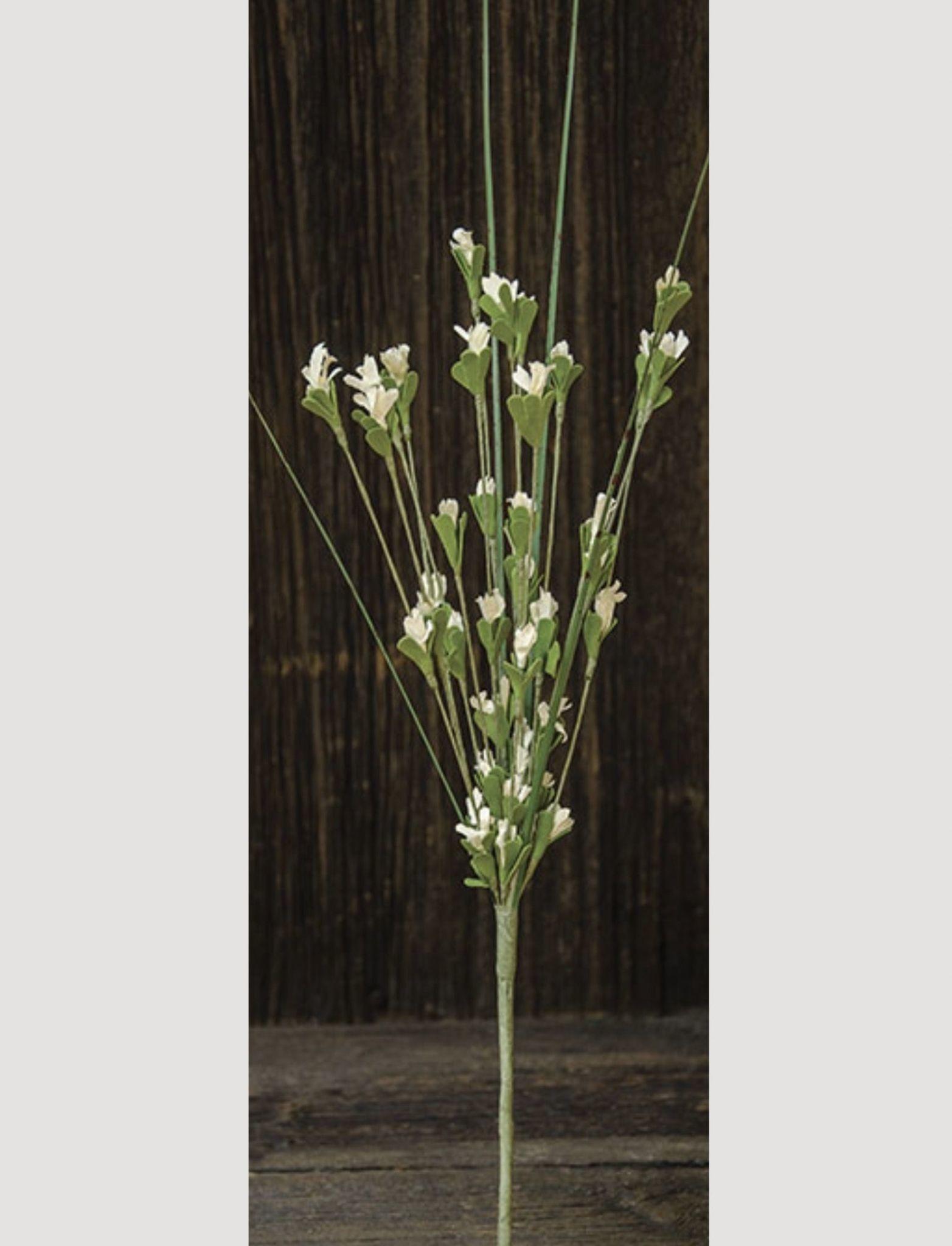 """Wild Blossom Pick Cream - 16"""""""