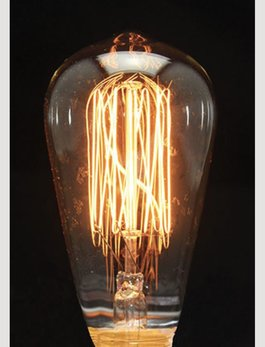 Nana's Farmhouse Primitive Edison Bulb 40W