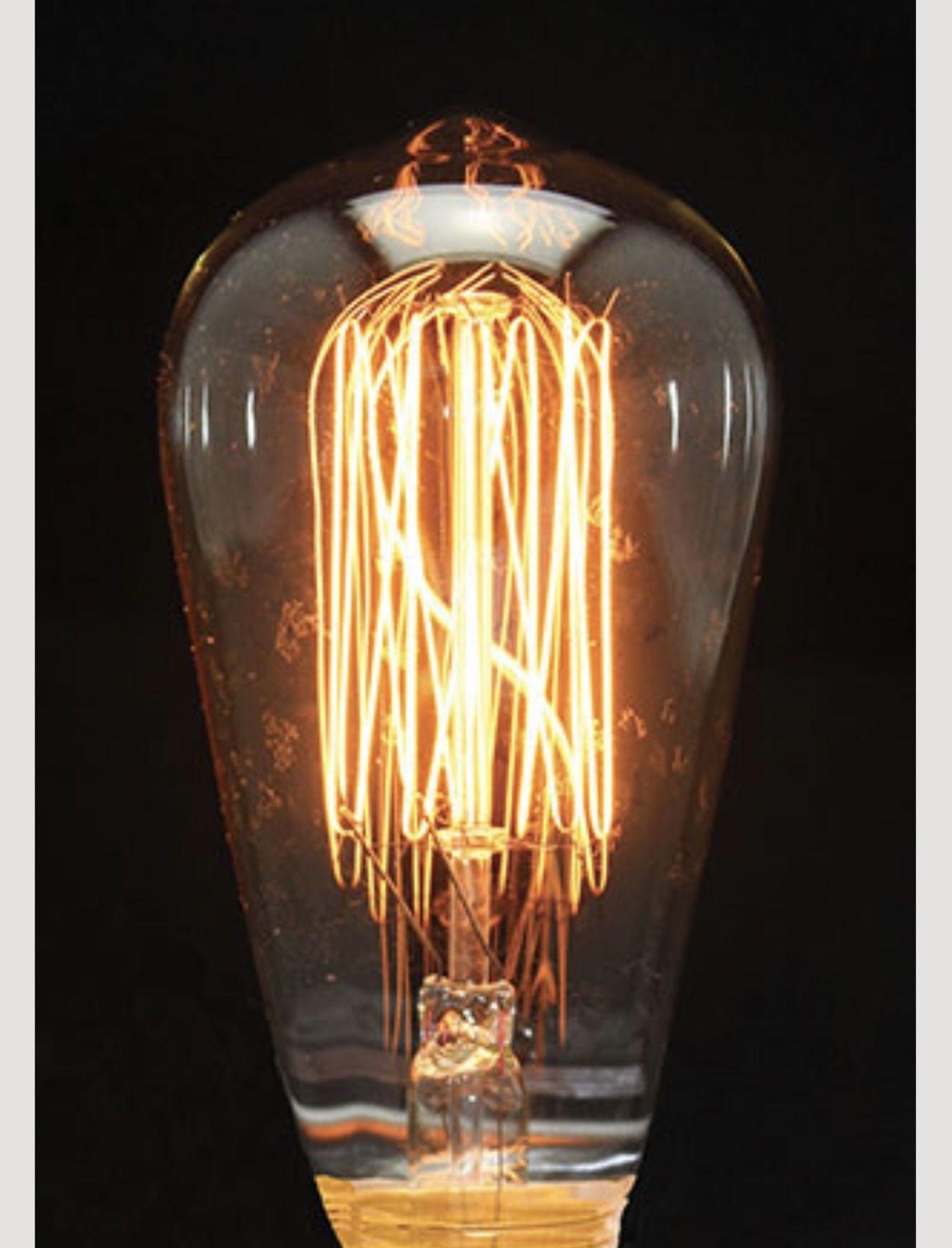 Nana's Farmhouse Primitive Edison Bulb 40W