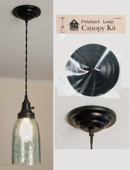 CTW Home Collection Pendant Lamp Canopy Kit